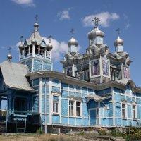 Храм в городе Шилка. Забайкалье :: Анна