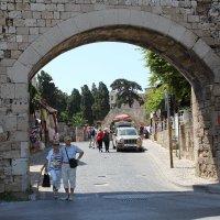 Родос.Ворота в старый город. :: vadimka