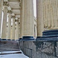 колонны Казанского Собора :: Елена