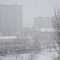 Снегопад или хорошо дома в непогоду :: Валентина Данилова