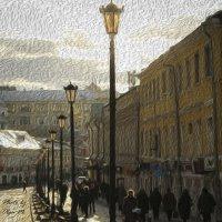 Москва. Улица Забелина. :: Ольга Мансурова