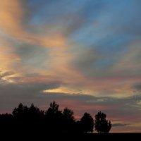 Акварельный закат. :: nadyasilyuk Вознюк