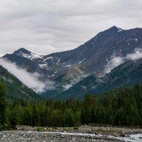облачка в горах :: Константин Шабалин