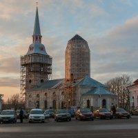Вечер у Храма :: Игорь Николаич