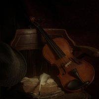 натюрморт со скрипкой... :: Роман Шафовал