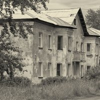 Город детства :: Елена Баландина