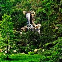 водопад в Эссене :: Александр Корчемный