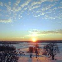 Краски февральского утра :: Николай Туркин