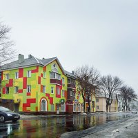 Это,тот город,в котором даже в самую хмурую погоду - яркое настроение. :: Михаил Фенелонов