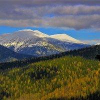 Сентябрьские погоды в горах :: Сергей Чиняев