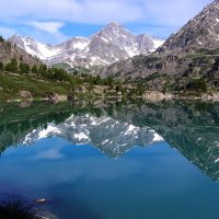 озеро Дарашкель одно из красивых и малодоступных озер Горного Алтая :: Александр Скалозубов