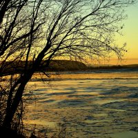 Закат на реке. :: nadyasilyuk Вознюк