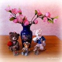 Медведи. Семейный портрет :: Nina Yudicheva