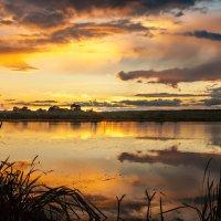 вечер на озере :: Александр Есликов