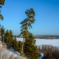На высоком берегу :: Андрей Поляков