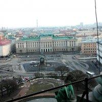 Вид с колоннады Исаакиевского собора :: Алина Анохина