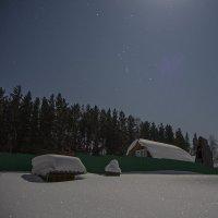 Морозная февральская ночь. :: Александр Гурьянов