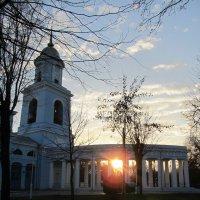 Закат. Покровский собор, Измаил,Украина :: Жанна Романова