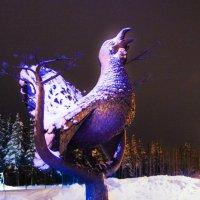Памятник символу города Сосногорк. :: Евгений Карелин