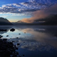 Утро на Телецком озере :: Ольга Фролова