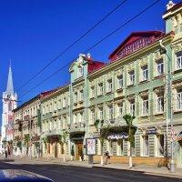 """Гостиница """"Грандъ-Отель"""" (1908 г.) на ул. Дворянской в Самаре :: Денис Кораблёв"""