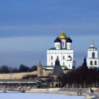 Вид на Троийкий собор с моста  имени 50-летия Октября :: Fededuard Винтанюк