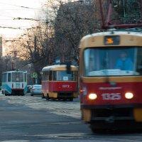 трамвай :: Лев Сергеев