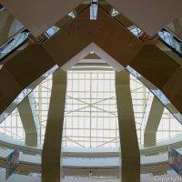 Затейливые эскалаторы в торговом комплексе :: Андрей Синявин