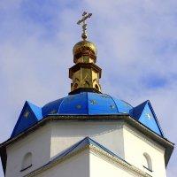 Крест над куполом церкви. :: Валентина ツ ღ✿ღ
