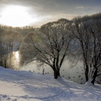 зимний пруд :: gribushko грибушко Николай