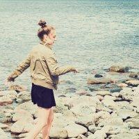 The girl and the sea. :: Илья В.