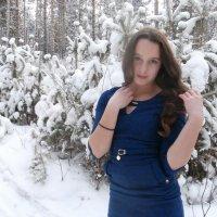 Снежная-нежная :: Елена Фалилеева-Диомидова