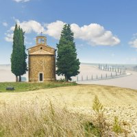 "Cappella della Madonna di Vitaleta Из серии ""Toscana - amore mio"" :: Ашот ASHOT Григорян GRIGORYAN"