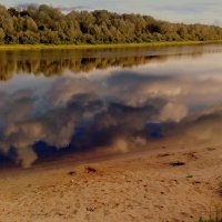 облака в Соже :: Александр Прокудин