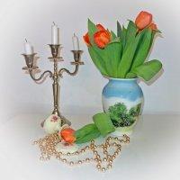 """""""...Я нарву тебе букет тюльпанов, Разолью вина, зажгу все свечи..."""" :: Galina Dzubina"""