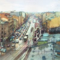 Зимний дождь в Питере... :: Анна Булгакова