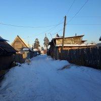 Деревенский переулок :: Глен Ленкин
