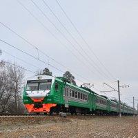 Электропоезд ЭД4М-0445 :: Денис Змеев