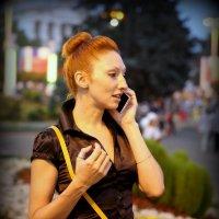 я здесь,а ты где или женский образ :: Олег Лукьянов