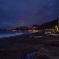 Вечерний ( ночной) берег Летоянни, Сицилия :: Witalij Loewin