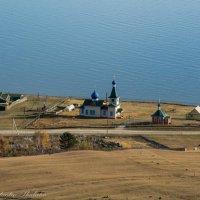 церквушка, Большое Голоустное :: Константин Шабалин