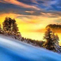 зимние переливы :: Владимир Беляев ( GusLjar )