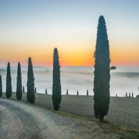"ДОРОГА В НЕБО. Из серии ""Toscana - amore mio"" :: Ашот ASHOT Григорян GRIGORYAN"