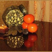 Натюрморт с мандаринами :: Лидия (naum.lidiya)