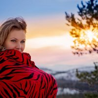 Северное солнце :: Елена Тарасевич (Бардонова)