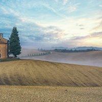 "НА ВОСХОДЕ. Из серии ""Toscana - amore mio"" :: Ашот ASHOT Григорян GRIGORYAN"