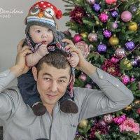 Сын и папа :: Камилла Демидова