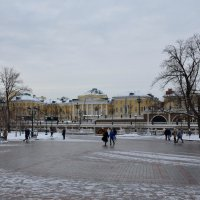 Городской пейзаж :: Ольга
