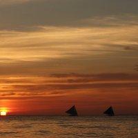 паруса на закате :: Наталия Ремизова