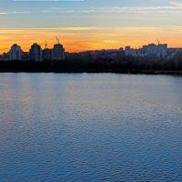 Закат на реке Воронеж. :: Laborant Григоров